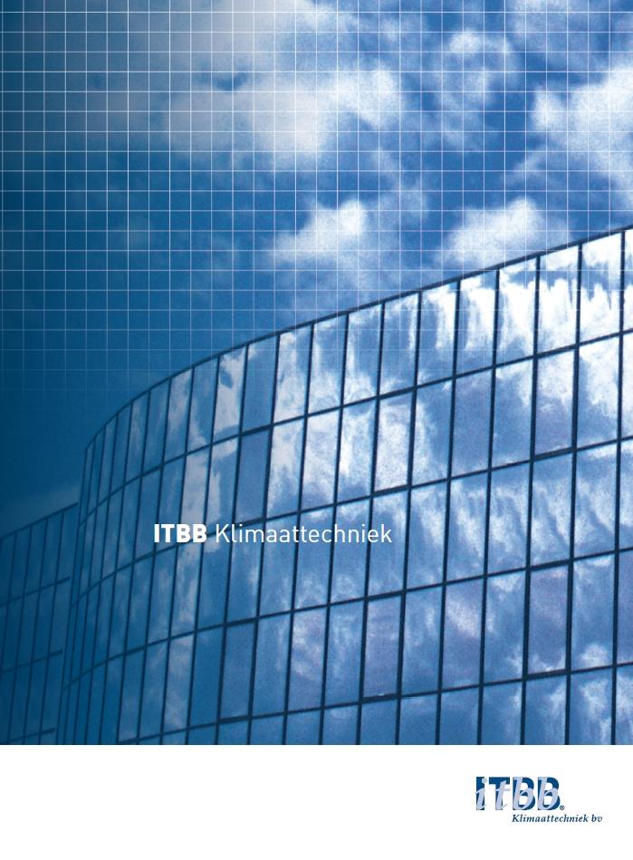 ITBB Klimaattechniek Front folder