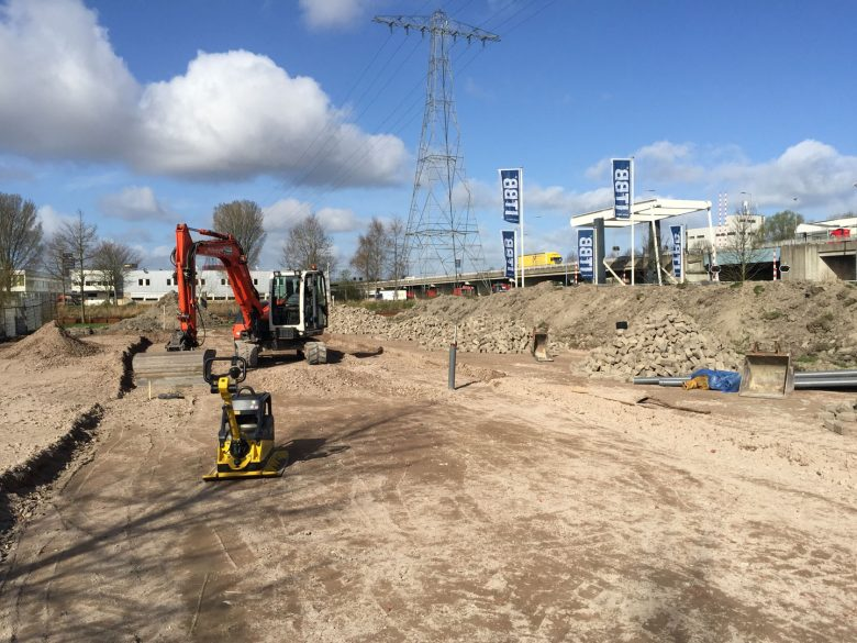 Containeropslag ITBB Groningen 2