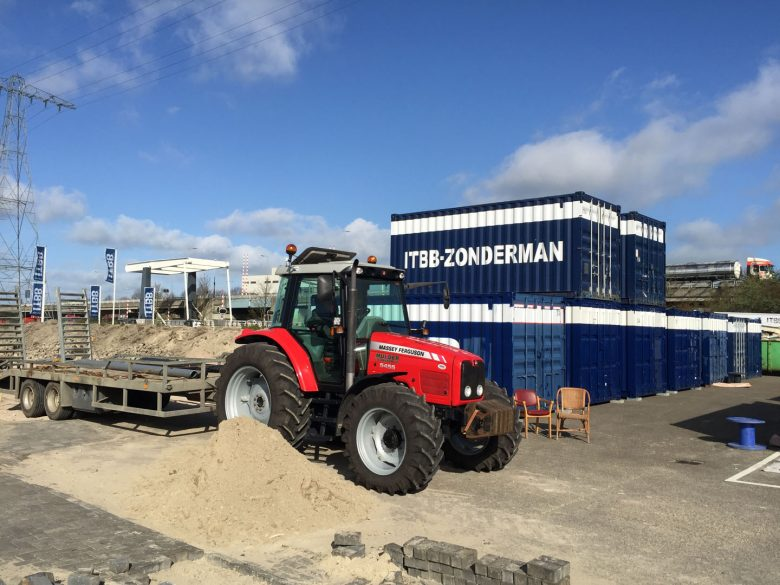 Containeropslag ITBB Groningen 4