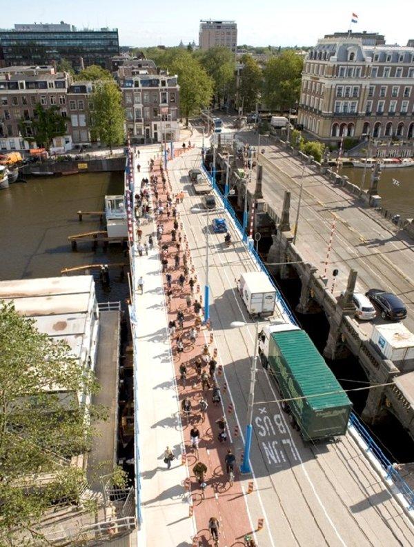 ITBB Noodbrug Hogesluisbrug amsterdam